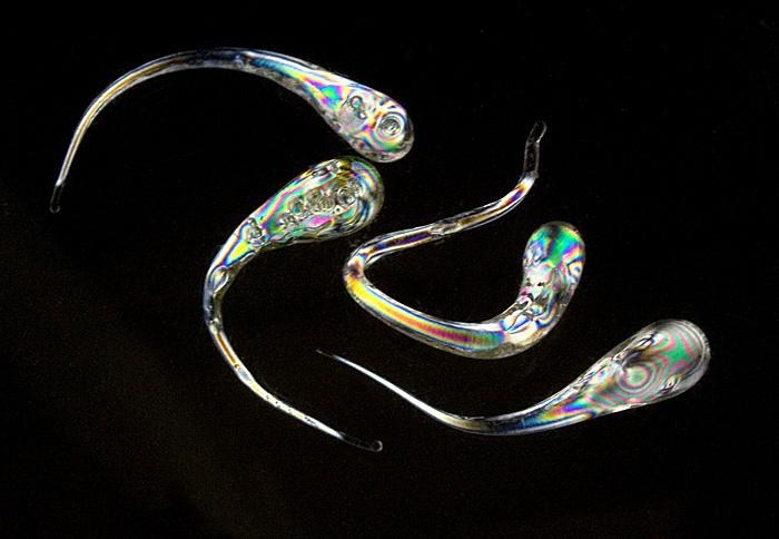 Ученые пытаются контролировать внутренние напряжения в стекле