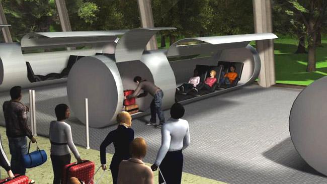 Путешествия на капсулах по трубам – новый транспортный проект Evacuated Tube Transport