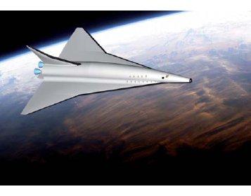 Разрабатывается новый концепт гиперзвукового авиалайнера