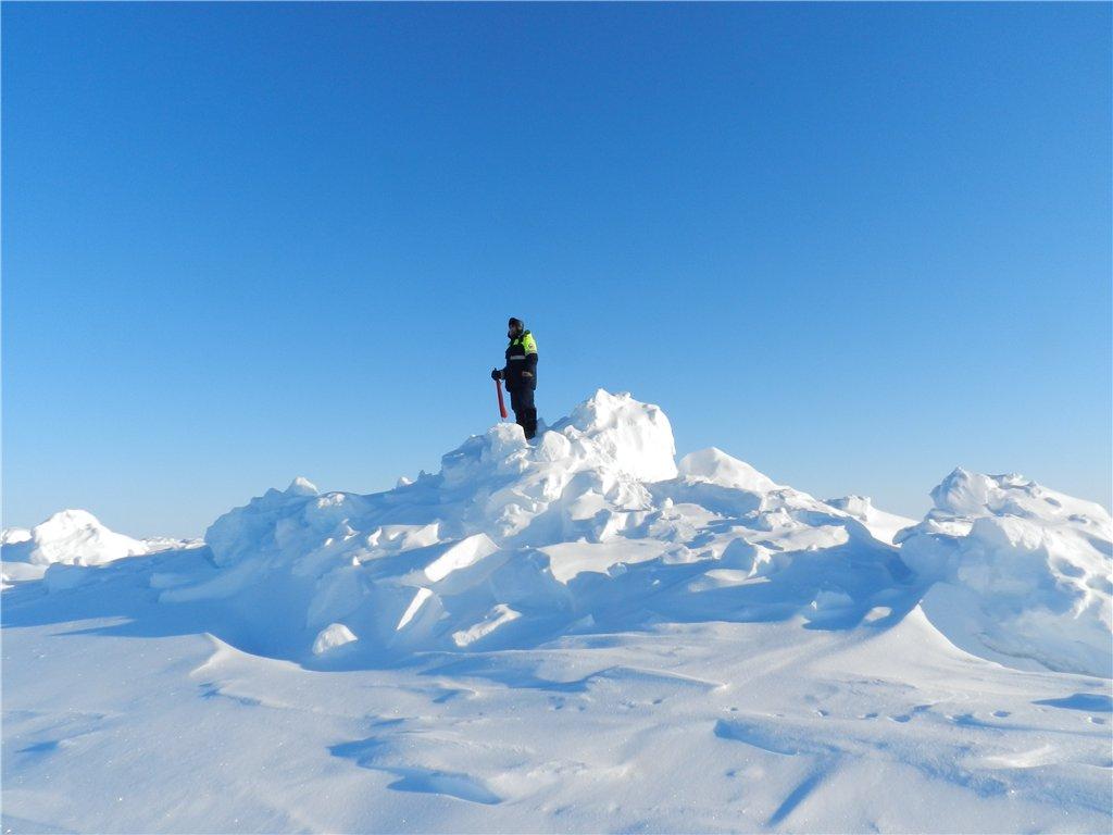 НАУКА: Эвакуация полярников