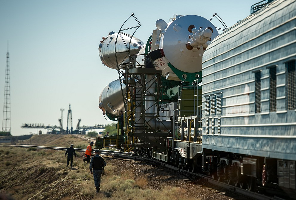 «Союз ТМА-09М» с экипажем новой экспедиции пристыковался к МКС
