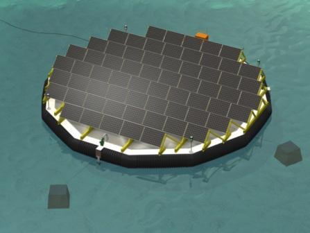 Три острова-электростанции скоро появятся в Швейцарии