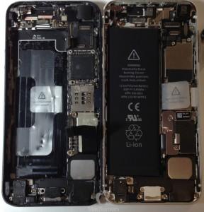 Первые фотографии iPhone 5S показали много интресного