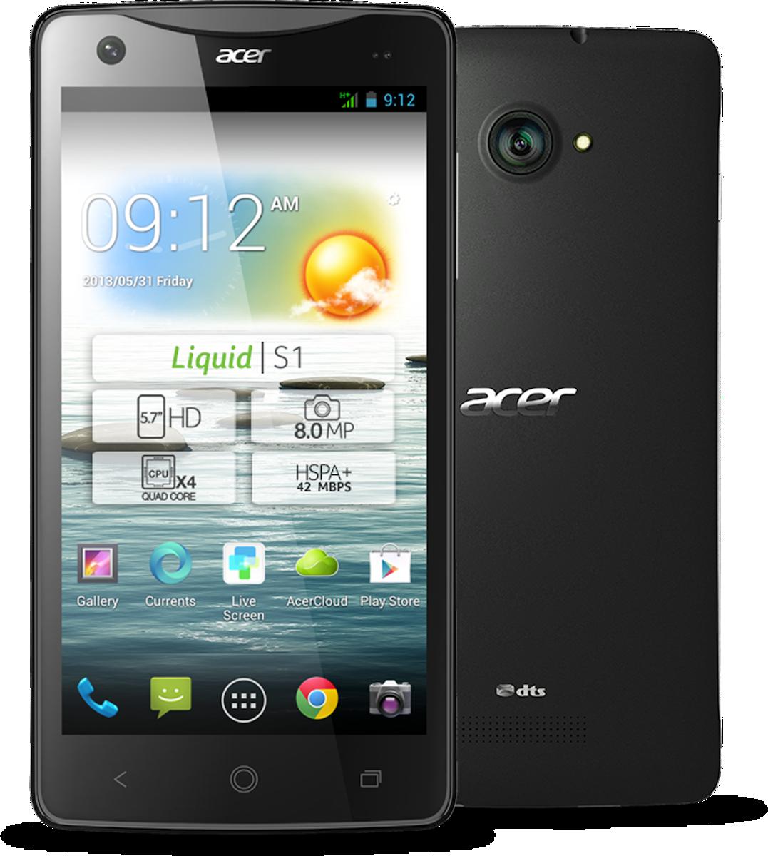Computex 2013: Acer представила планшетофон Liquid S1