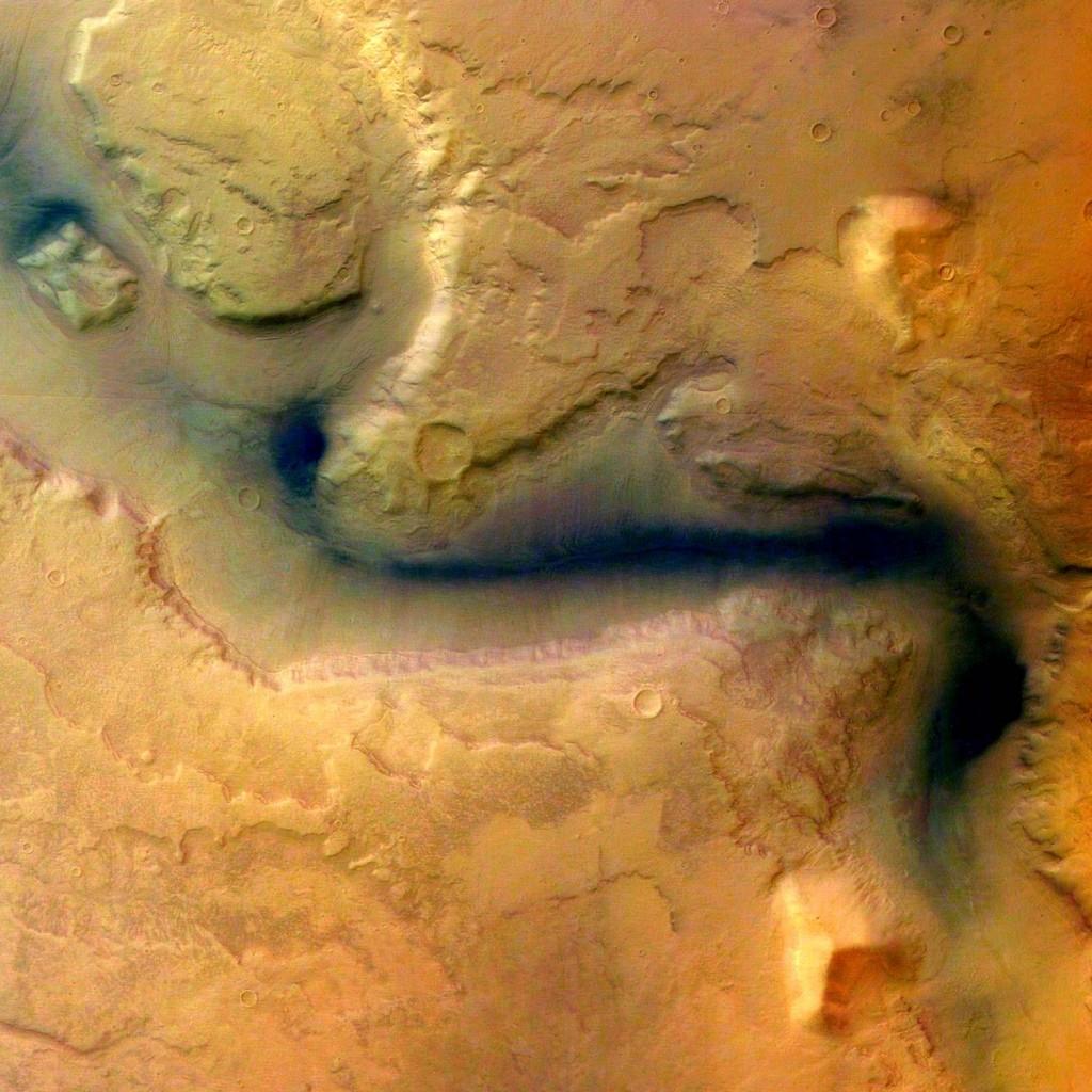 Ученые нашли доказательства существования воды на Марсе