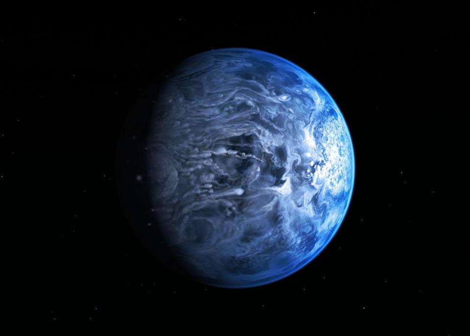 НАУКА: Голубая, но не Земля