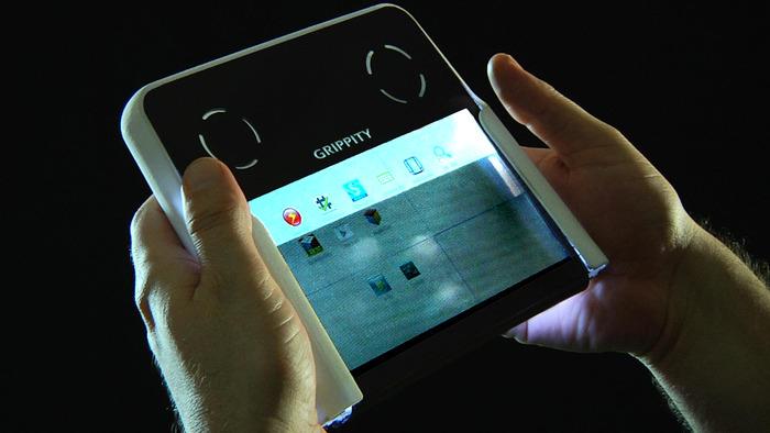 Создан первый в мире планшет с полупрозрачным экраном
