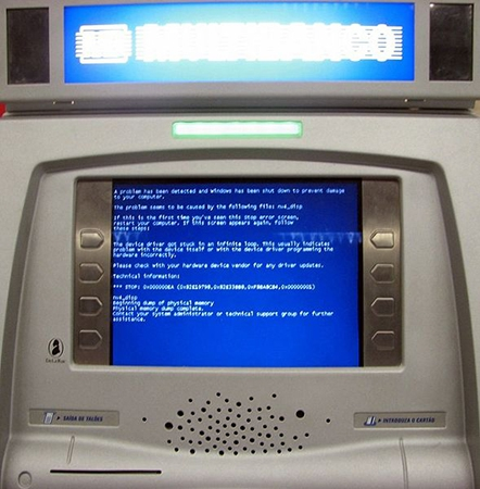 windows xp, УГРОЗА ДЛЯ БАНКОМАТОВ