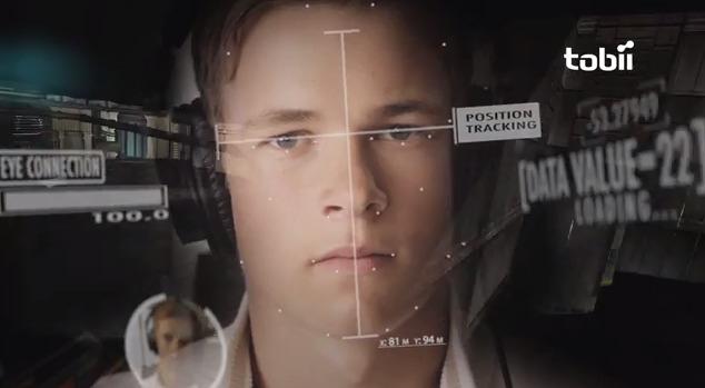 система слежения за глазами геймера - Tobii EyeX.